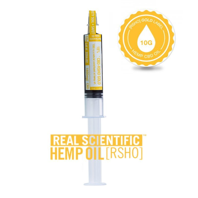 Real Scientific Hemp Oil 24% Gold Label 10g Tube