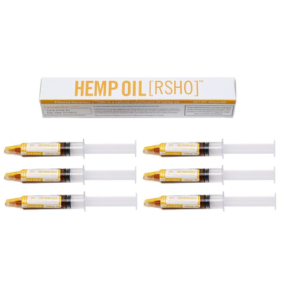 Real Scientific Hemp Oil 24% Gold Label 10g Tube 6 Pack