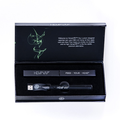 Unflavored CBD Hemp Oil Vaporizer Starter Kit
